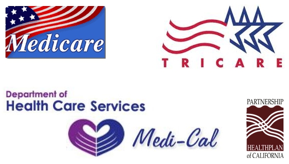 We accept a variety of insurances: Medicare, Medi-Cal, PHP of CA, & others